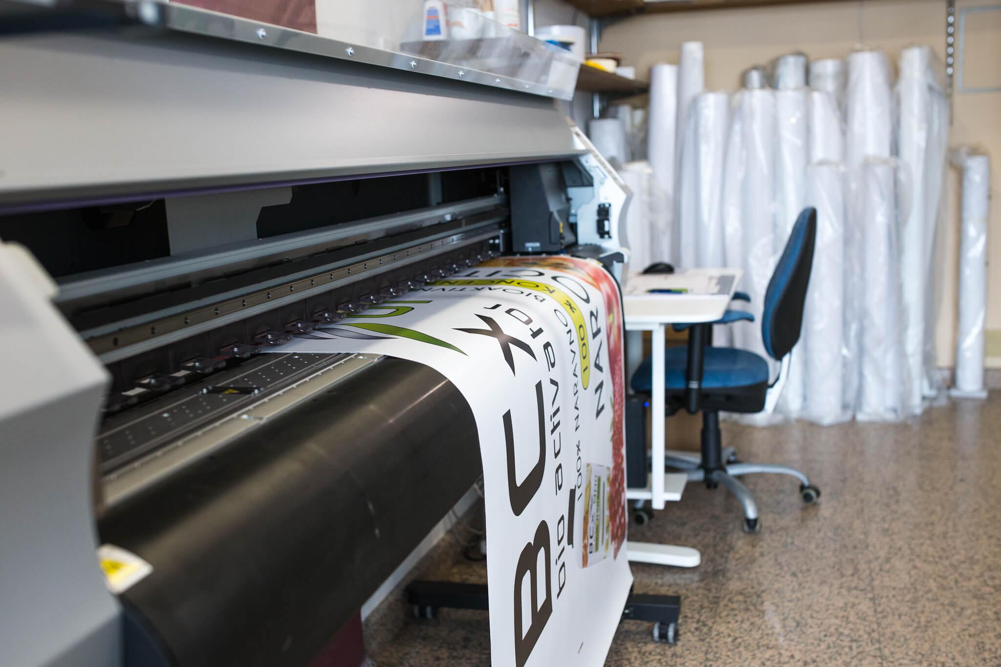 Tiskarna, gradbene mreže folije, gradbene table